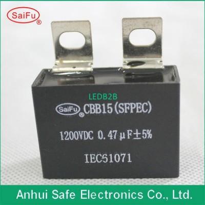 CBB15 1200V 0.47uF DC power elect