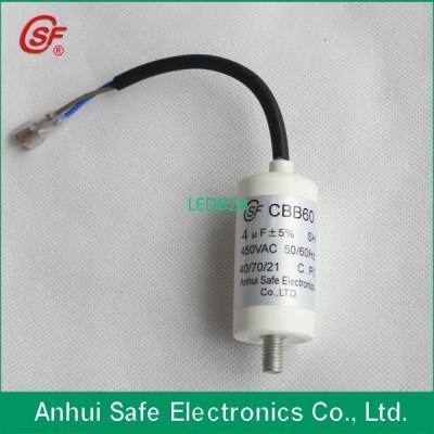 CBB60 450V 4uF water pump capacit