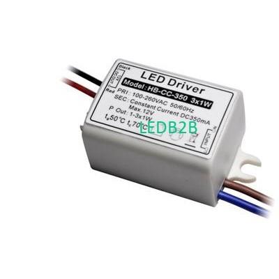 350mA 3W Constant Current LED Dri