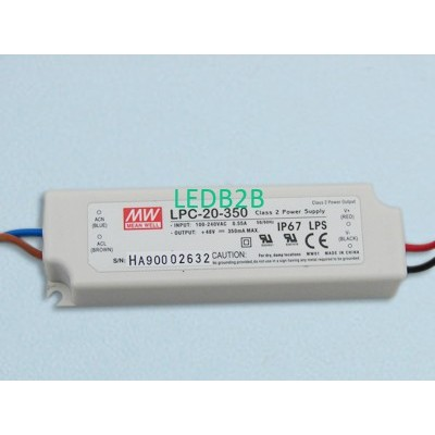 LED Power Supply   LPC-20-350