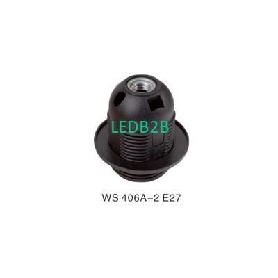 WS 406A-2 E27 PLASTIC LAMPHOLDER