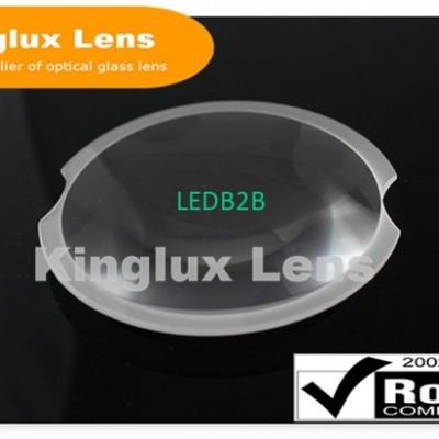 Kinglux 102mm biconvex glass lens