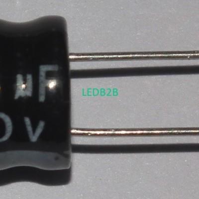 250v10uF 10X16 aluminum elect