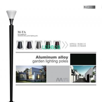 Aluminum lighting pole M-TA