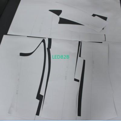 Clothing Handbag Paper Pattern De