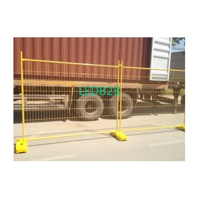 Welded portable fence - high stre