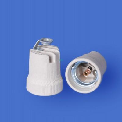 E27 F519S Porcelain lampholder—