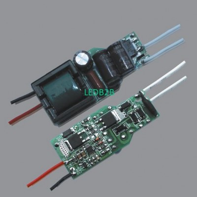12W dimmable LED driver for bulb