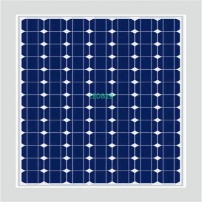 Mono crystallial solar panel 75w-