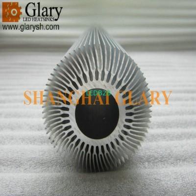 GLR-HS-089 70mm AL6063-T5 Extrusi