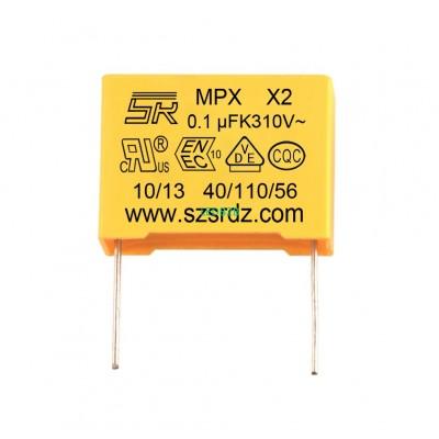 100nf 275VAC MPX X2 polypropylene