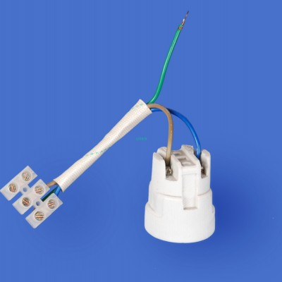 E27 F519NZ-1 Porcelain lampholder
