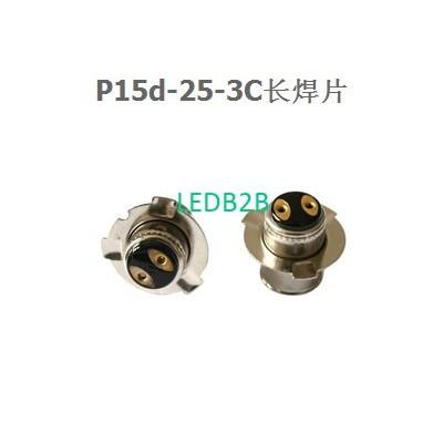 P15d-25-3C lamp bases