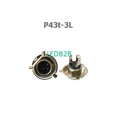 P43t-3L lamp bases
