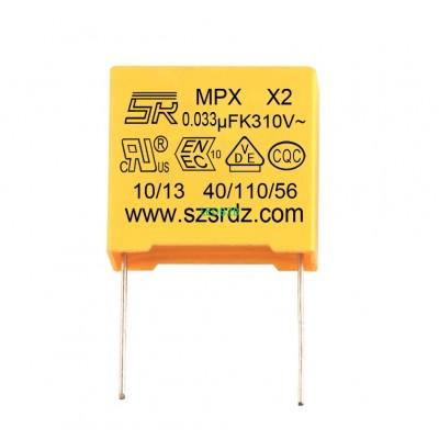 0.033uF 275V Polypropylene Safety