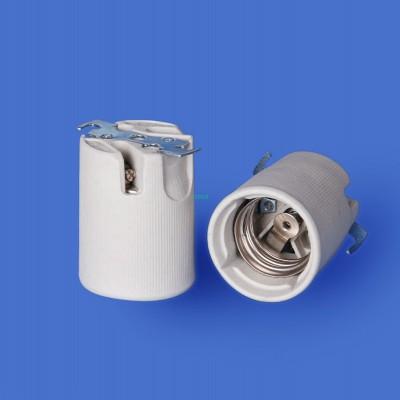 E40 531-2+T Porcelain lampholder