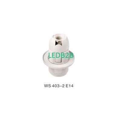 WS 403-2 E14 PLASTIC LAMPHOLDER