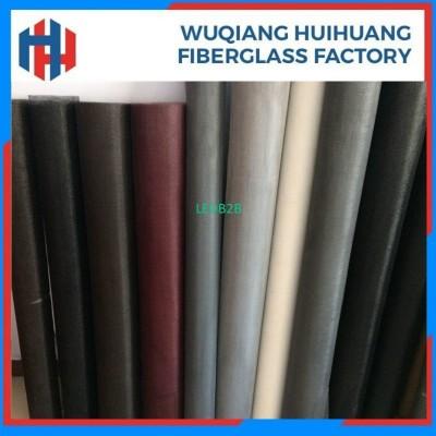 PVC coated fiberglass window and