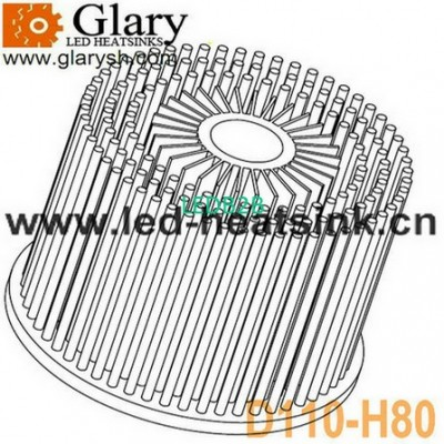 110mm 40W Cold Forging LED Down L