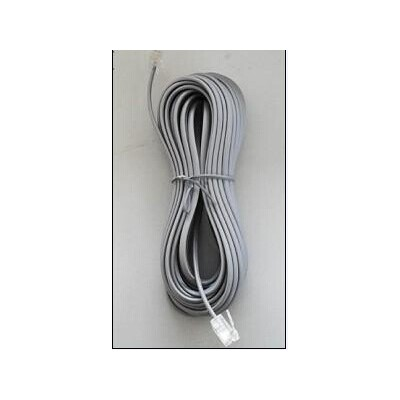 6P2C 10M Telephone Cable