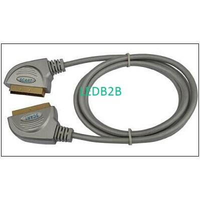 Scart Male To Scart Male Cable