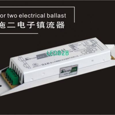 One for two Electrical ballast  S