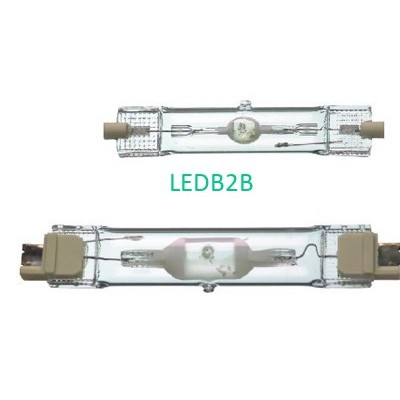 Double-ended metal halide lamps