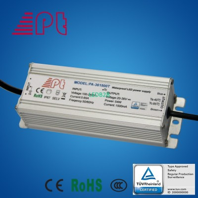 TUV approved LED waterproof power