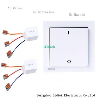Wireless Remote Control Wall Swit