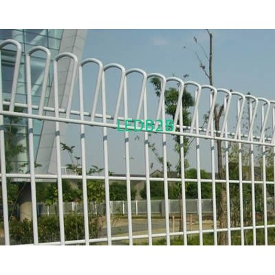 Roll top fence - safety fencing f
