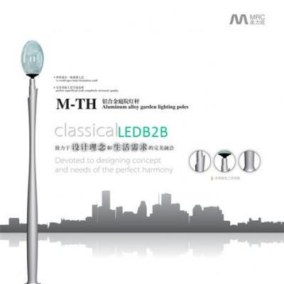 Aluminum lighting pole M-TH