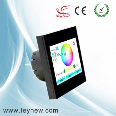 RGB led smart touch screen contro