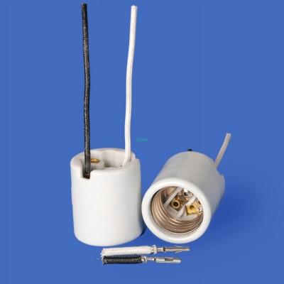 E26 F502F-0019+AMP Porcelain lamp