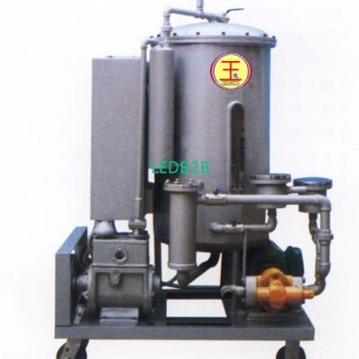 Insulating oil filter vacuum