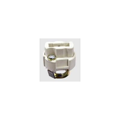 Halogen lampholder G9 with bracke