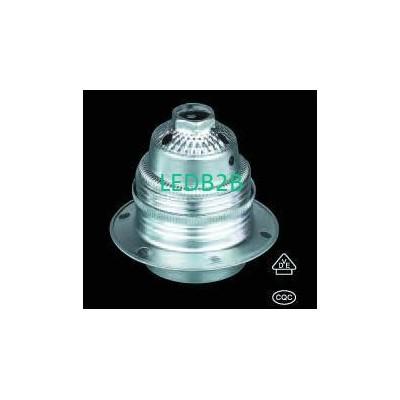 European metal lamp holder