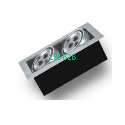 Aluminium extrusion grill light s