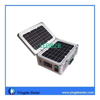 Portable solar system for lightin