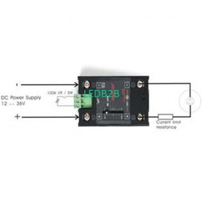 LD-103 1CH LED Dimming Driver