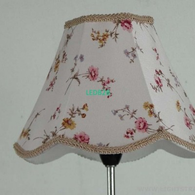 Alicia lampshade with printed flo