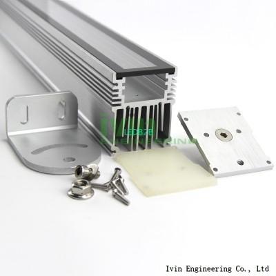Aluminum panel light housing led