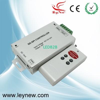 Wireless SD card SPI controller