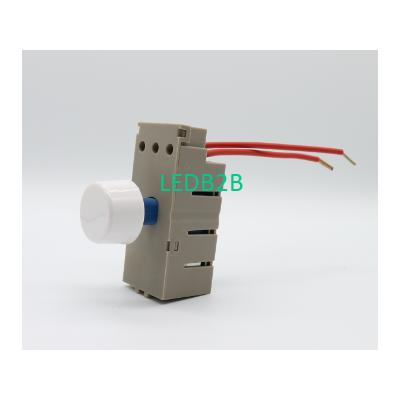 UK Push Rotary LED dimmer switch