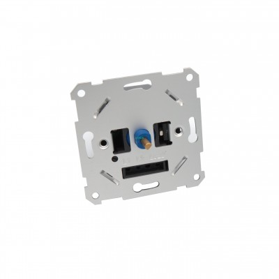 EU Push Rotary LED dimmer switch