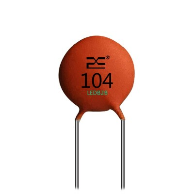 Ceramic capacitor. On the surface