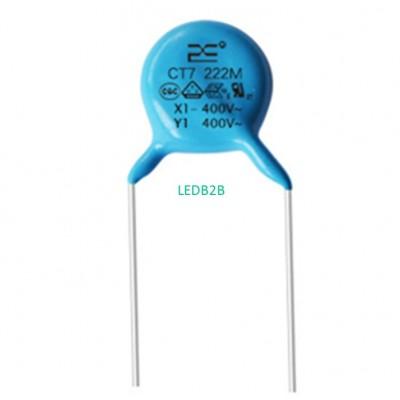 Ceramic capacitor.Ac ceramic diel