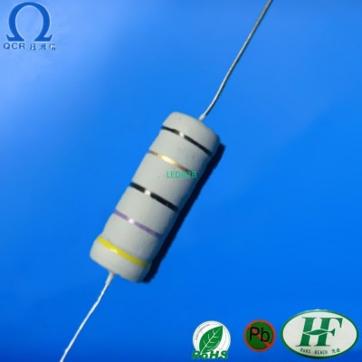 Fusible wirewound resistors Flame