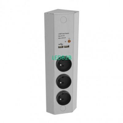 USB + Power Station (Surface Moun
