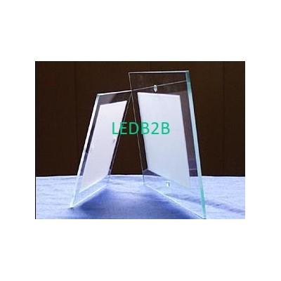 Quadrate sandblast tempered glass