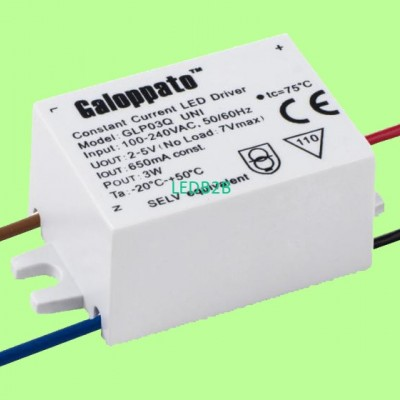 320mA  6-12V 2-3W  Constant  Curr